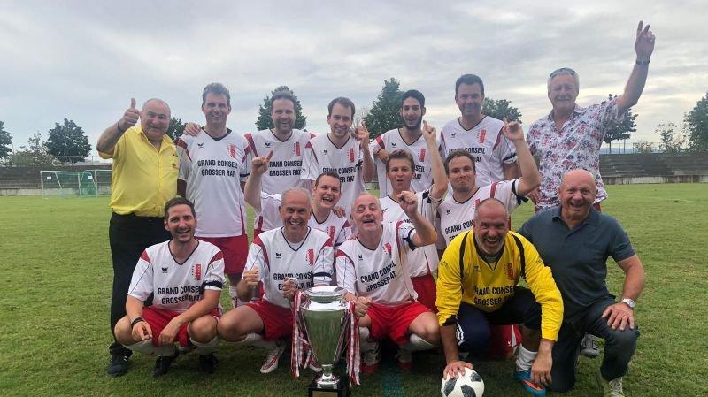 Le Grand conseil valaisan a remporté le tournoi pour la 7e fois.