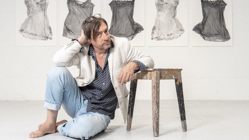 Sierre: le peintre Pierre Zufferey se livre sans tabou à travers une nouvelle exposition