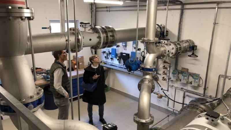 Martigny: la population invitée à découvrir les nouvelles installations d'eau potable alimentant la ville
