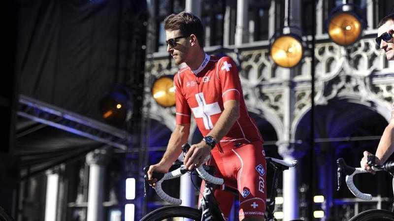 Sébastien Reichenbach effectuera une partie de la course avec Théo Mathys, atteint d'une adrénoleucodystrophie.