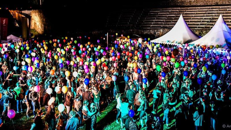 Aux Arsenaux de Sion, vendredi soir, la Balloon Silent Disco du PALP Festival devrait en charmer plus d'un.