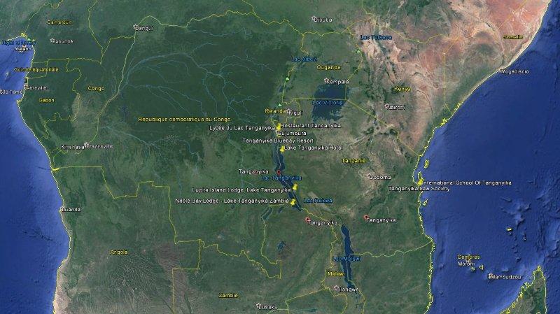 Le drame s'est déroulé dans le Tanganika, une région située dans le sud-est de la République démocratique du Congo.