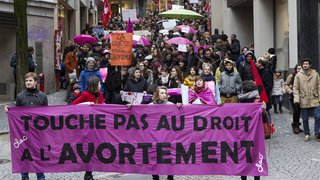Zurich: incidents lors d'une manifestation anti-avortement