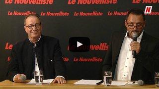 Fédérales 2019: face à face sur les transports entre Jean-Marie Bornet RCV et Yvan Rion UDC