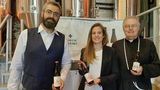 La bière de l'abbaye de Saint-Maurice sera chargée d'histoire