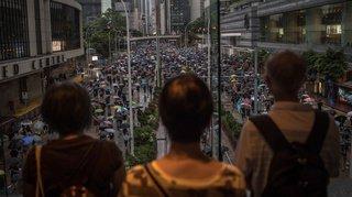 Hong Kong: Pékin a utilisé Twitter et Facebook contre les manifestants