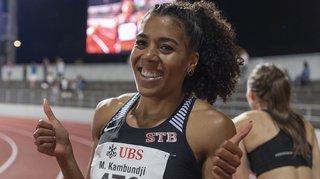 Championnats de Bâle: Mujinga Kambundji bat le record de Suisse du 200 m