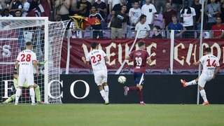 Football: Xamax galvaude un premier succès qu'il tenait à Genève