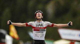 Cyclisme – Tour d'Espagne: le Slovène Tadej Pogacar remporte la 20e étape, Roglic à un jour du sacre