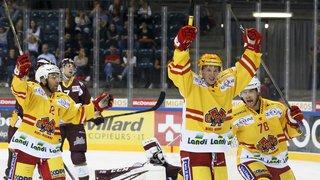Hockey: Bienne a eu raison de Genève, Zoug et Rapperswil s'imposent