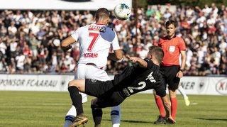 Coupe de Suisse: Doumbia délivre le FC Sion face à Aarau