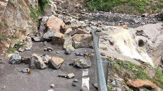 Fully-Chiboz: la route est fermée jusqu'à nouvel avis