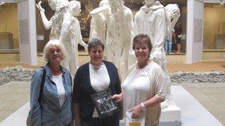 Martigny: l'exposition Rodin-Giacometti à la Fondation Gianadda a accueilli son 50 000e visiteur