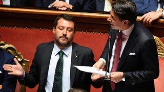L'Italie replonge  dans l'instabilité politique