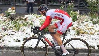 Cyclisme: Thibault Rossier est champion de Suisse de la montagne chez les juniors