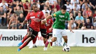 Football: Monthey a regardé Saint-Gall droit dans les yeux