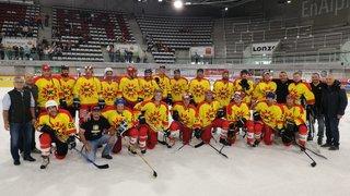Hockey: les anciennes gloires de Viège dominent les légendes du HC Sierre