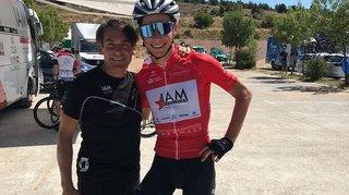 Cyclisme: Simon Pellaud s'est battu pour le maillot de la montagne