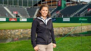 Sophie Clivaz, le tampon entre les médias et les athlètes, été comme hiver