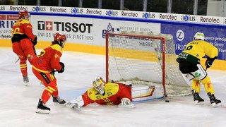 Hockey sur glace: le HC Sierre a laissé passer une belle occasion