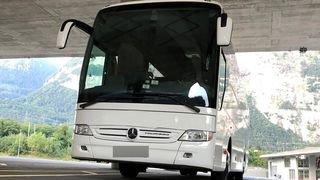 Saint-Maurice: chauffeur d'autocar sans permis pincé pour cabotage