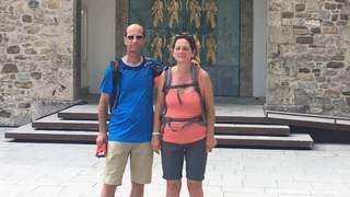 «Le Nouvelliste» est parti en campagne avec Beat Rieder et Marianne Maret