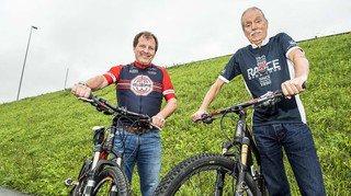 VTT: Christian Bénet et Philippe Frossard n'ont pas manqué la moindre édition du Grand Raid