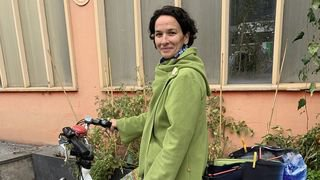 «Le Nouvelliste» est parti en campagne avec Céline Dessimoz (les Verts), candidate à vélo