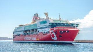 Un ferry de la Corsica Linea sauve 18 migrants à la dérive