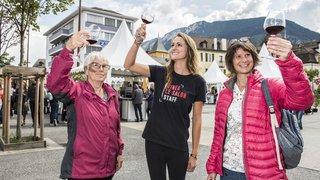 VINEA: des «Wine Angels» ont fait découvrir le salon aux visiteurs intéressés