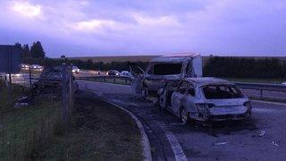 Vaud: attaque d'un fourgon blindé à une sortie d'autoroute dans le Nord vaudois