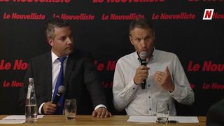 Fédérales 2019: face à face sur la thématique du climat entre Stéphane Ganzer PLR et Christophe Clivaz des Verts, candidats au Conseil national