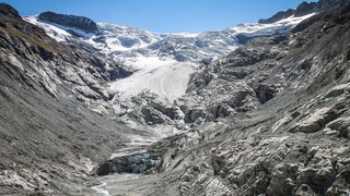 Glacier de Ferpècle: chronique d'une fonte précipitée