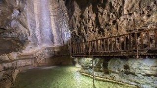 Saint-Maurice: la Grotte aux fées à nouveau accessible
