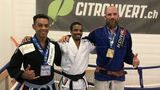 Jiu-jitsu: Thierry Jordan et Helio Fernandes sur le podium des Mondiaux master