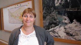 Vernayaz: Stéphanie Revaz Martignoni, première présidente de la commune, est entrée en fonction