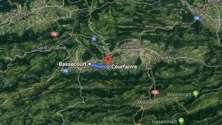 Des vaches prennent la clé des champs dans le Jura