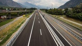 Travaux sur l'A9 en Valais: nouvelles fermetures prévues à Riddes
