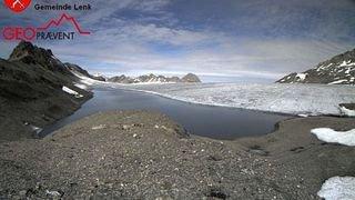 Le lac glaciaire de la Plaine Morte s'est vidé sans dégâts