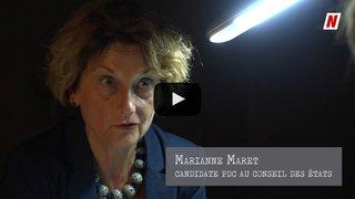 L'interrogatoire politique de Marianne Maret, candidate PDC au Conseil des États (partie 1): «Yannick Buttet me soutient officieusement dans ma campagne»