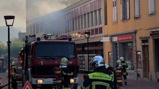 Faux incendie à Martigny