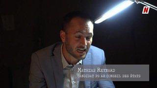 """Fédérales 2019: l'interrogatoire politique de Mathias Reynard (partie 2),""""Il faut taxer les billets d'avion et quand ils seront taxés et bien je paierai."""""""