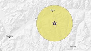 Région sierroise: un séisme de magnitude 3 ressenti vendredi matin