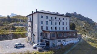 Le Weisshorn, un hôtel pas comme les autres, là-haut sur la montagne
