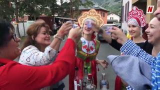 Bienvenue à «Vetrograd» (Vétroz): dégustation de vodka