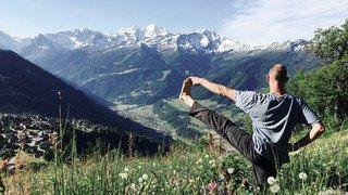 Verbier: un nouveau festival de yoga sur trois jours