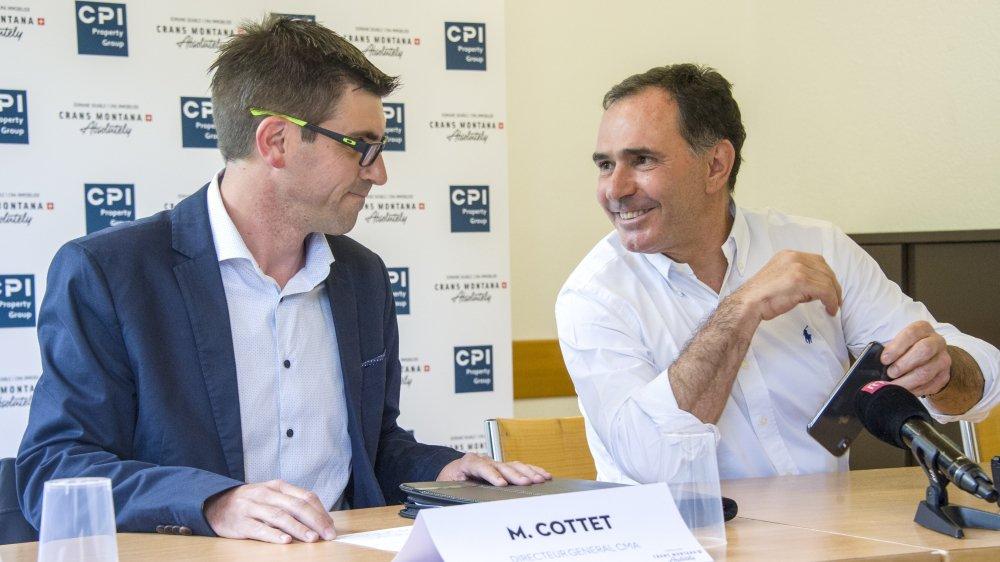 Respectivement directeur et président de CMA, Maxime Cottet et Philippe Magistretti prennent un risque en quittant le Magic Pass.