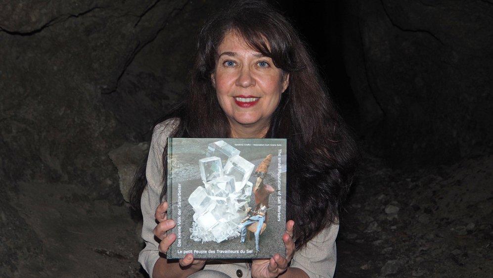 Sandrina Cirafici, auteure du livre, présente «Le petit peuple des travailleurs du sel».