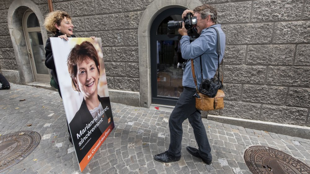 Marianne Maret a la lourde responsabilité de défendre le siège PDC aux Etats face à Mathias Reynard.