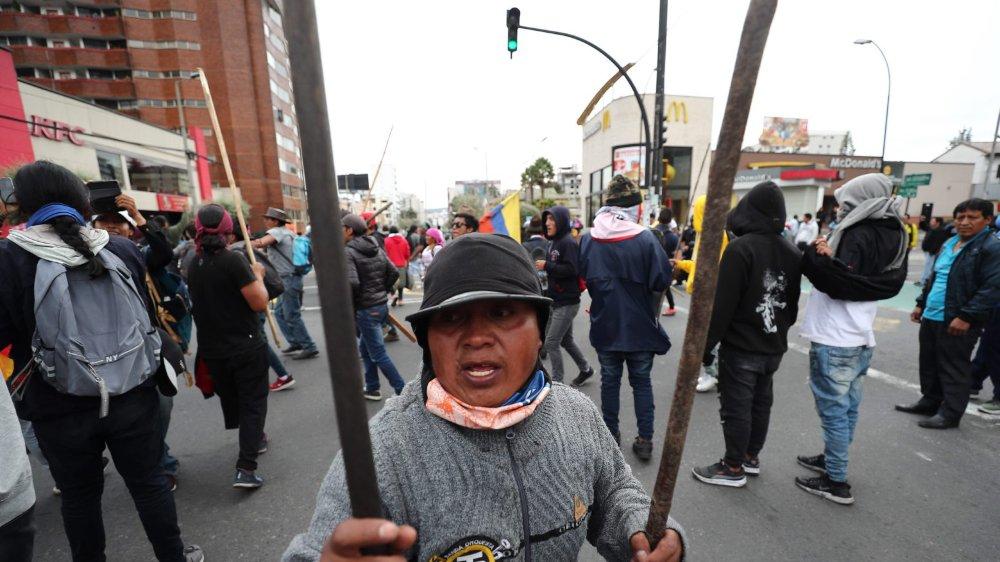 L'Equateur ébranlé par une insurrection
